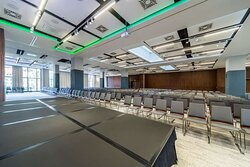 Conference room, theater style set-up