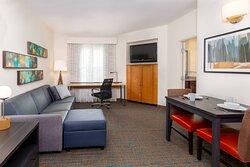 One Bedroom Corner Suite - Living Area