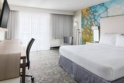 Newly Redesigned King Guest Room