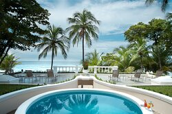 Private pool and terrace from Villa Royal