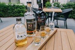 Kies zelf je line up van whisky's of laat je verrassen door ons.
