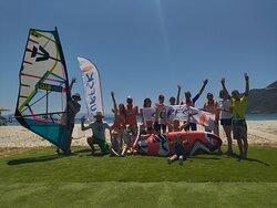 #windsurfing #surfski  #vassiliki