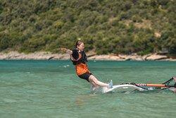 Sezon w pełni!   #windsurfing #surfski  #vassiliki