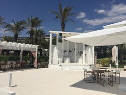 Palm Lounge etkinlik sahnesi