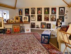 Carol Davison's work displayed in Gallery in the Mill.