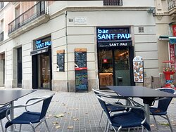 Bar Sant Pau, terraza