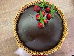 Fagylalt torta rendelhető Belga csokoládé-eper