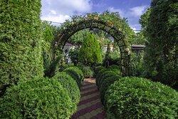 Ландшафтное озеленение создано специально для наших гостей.