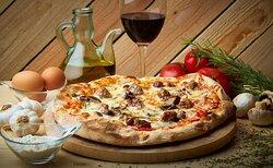 Pizza de Massa madre