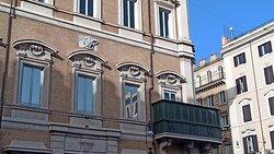Passeggiando in Centro, diretti a palazzo Bonaparte...