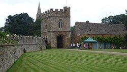 Entrance gateway from castle