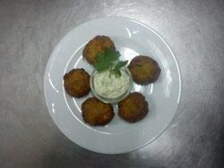 Homemade fried zuchiniballs!!!