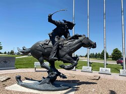 Pony Express Monument
