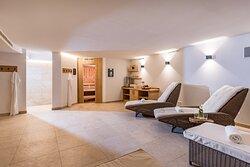 Saunabereich im Hotel Glockenstuhl in Westendorf