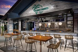 Coconut Charlie's Grill exterior bar