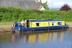 Gilwern Princess on the Monmouthshire to Brecon canal