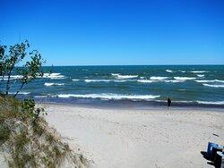 Indiana Sand Dunes National Park - West Beach Entrance