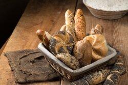 Korngebäck bieten wir in den verschiedensten Formen und Geschmacksrichtungen - viel Spass beim Frühstücken!