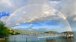 Beautiful rainbow captured