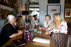 Ladies doing  lunch