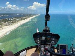 Flying over Orange Beach