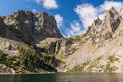 Emerald Lake from Bear Lake Trailhead