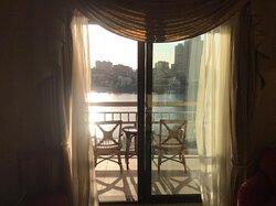 Rooms at conrad hotel cairo egypt