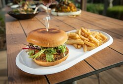 Herbed Crumbed Mushroom Burger VG   GF