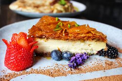 Baklavah Cheese Cake