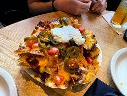nachos were the bomb