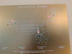 Deluxe Harbourview Suite 豪華海景套房 - Floor Plan 樓層平面圖