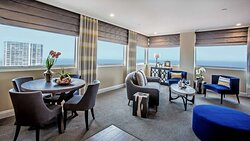 La V Sky Suite Living Room