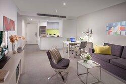 One Bedroom Deluxe Living Area