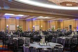 Waterview Ballroom - Wedding Reception Setup