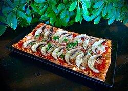 Portobello Mushrooms Pizza