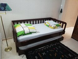 2 single - bed