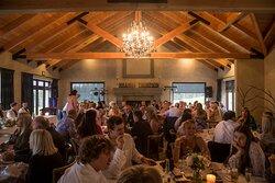 Moraine Lodge Wedding Reception
