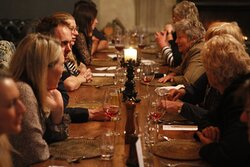 Supper Club event at Moraine Lodge - 9 course stellar degustation menu to celebrate the 9 stars of Matariki.