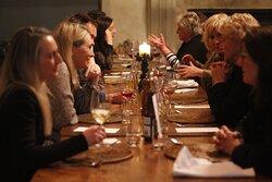 MAtariki 9 course degustation dinner at Moraine Lodge.