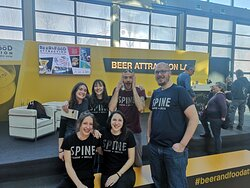 Spine Staff at the Intl. Beer Expo 2019
