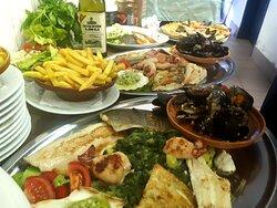 restaurant, terrace, a la carte food