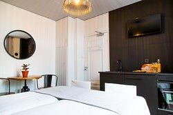 Luxe 2 persoons kamer met keuken