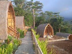 Simple bungalow en bambou
