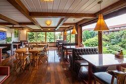 Espaço La Montaña- Coffee Shop, no Hotel Alpestre em Gramado