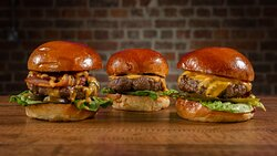 The Classics - With Bacon, with Cheese and without.