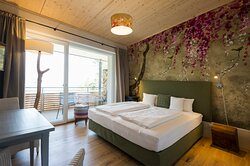 Doppelzimmer mit Blick übers Rheintal