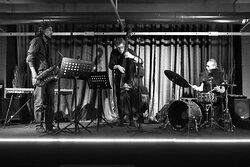 Il trio composto da Andrea Pimazzoni, Giulio Corini e Valerio Abeni