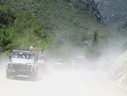 Джип-тур по горам Алании