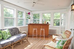 Welcoming Sunroom in our Main House