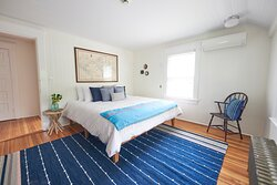 Whalehouse Suite in Main House offers a King Bed.